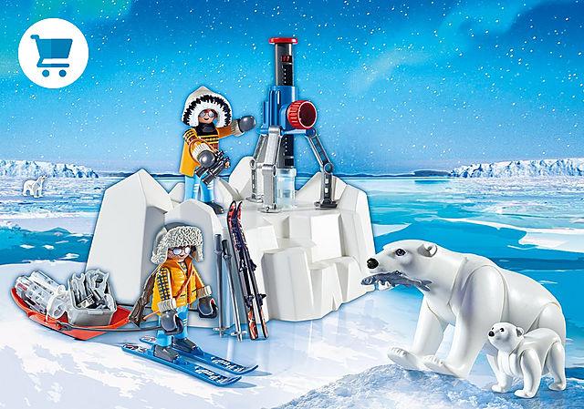 9056_product_detail/Arctic Explorers with Polar Bears