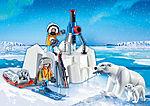9056 Polarforskare med isbjörnar