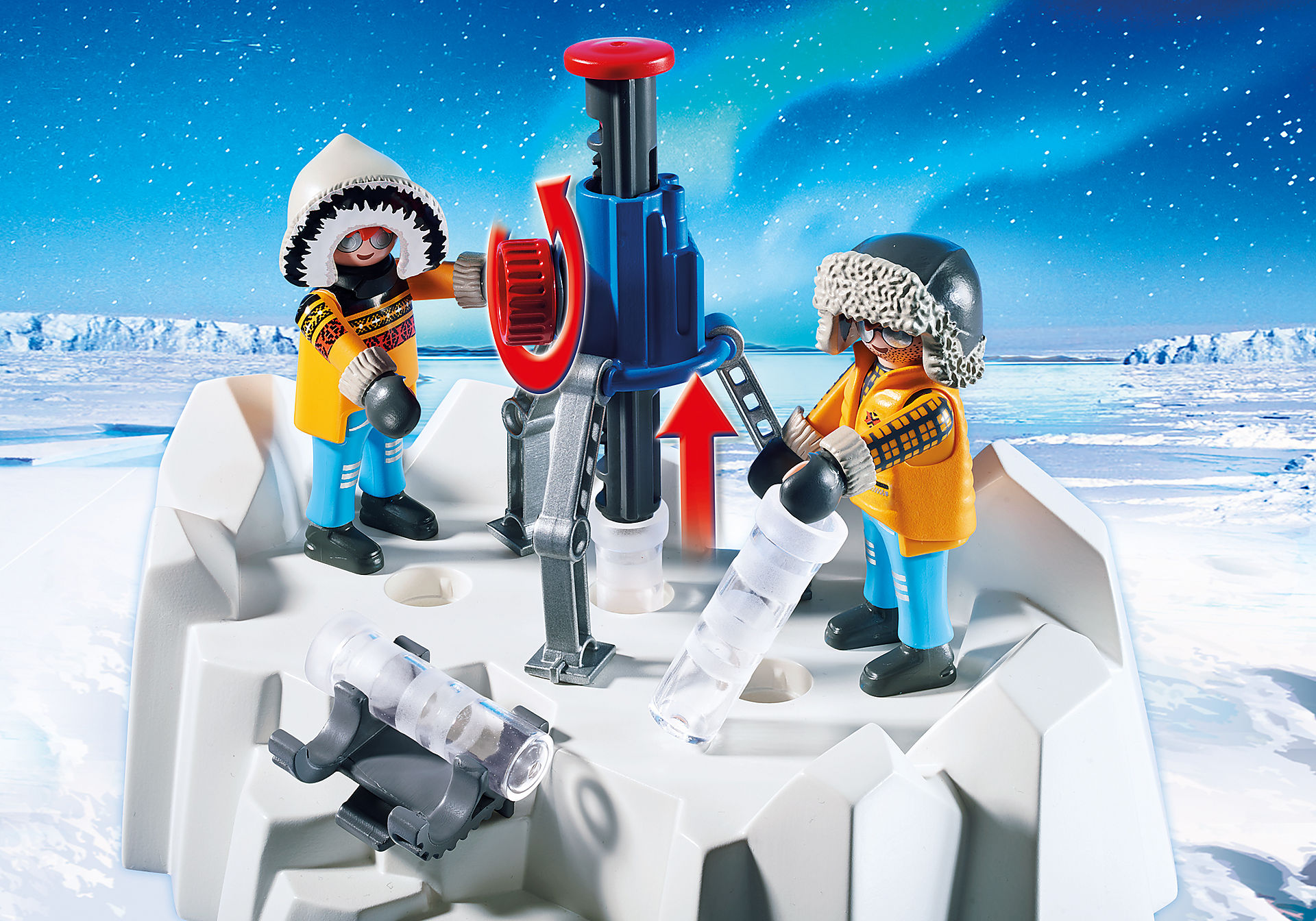 http://media.playmobil.com/i/playmobil/9056_product_extra1/Arctic Explorers with Polar Bears