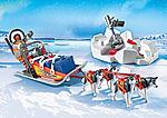 9057 Explorateur avec chiens de traineau