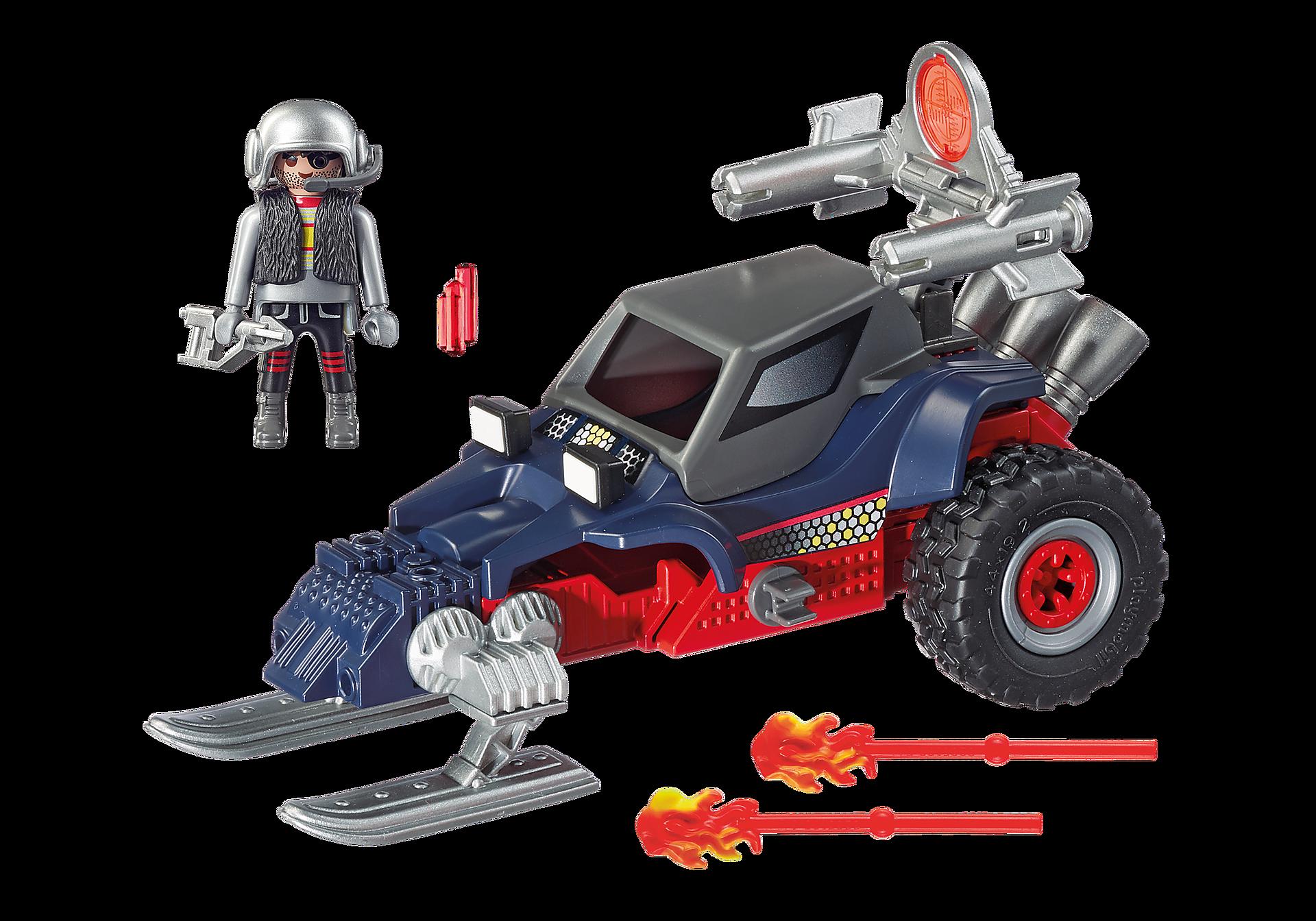 9058 Predatore con motoslitta zoom image4