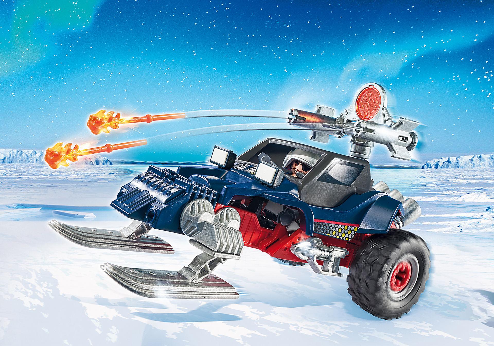 9058 Motoneige avec pirate des glaces zoom image1