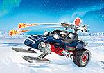 9058 Sneeuwscooter met ijspiraat