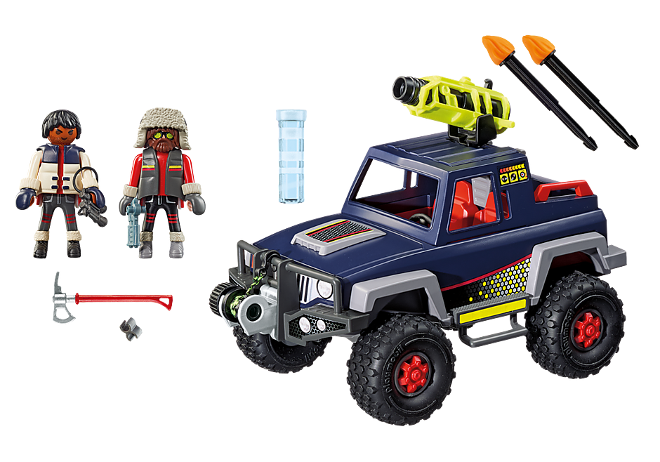 9059 Ice Pirates with Snow Truck detail image 4