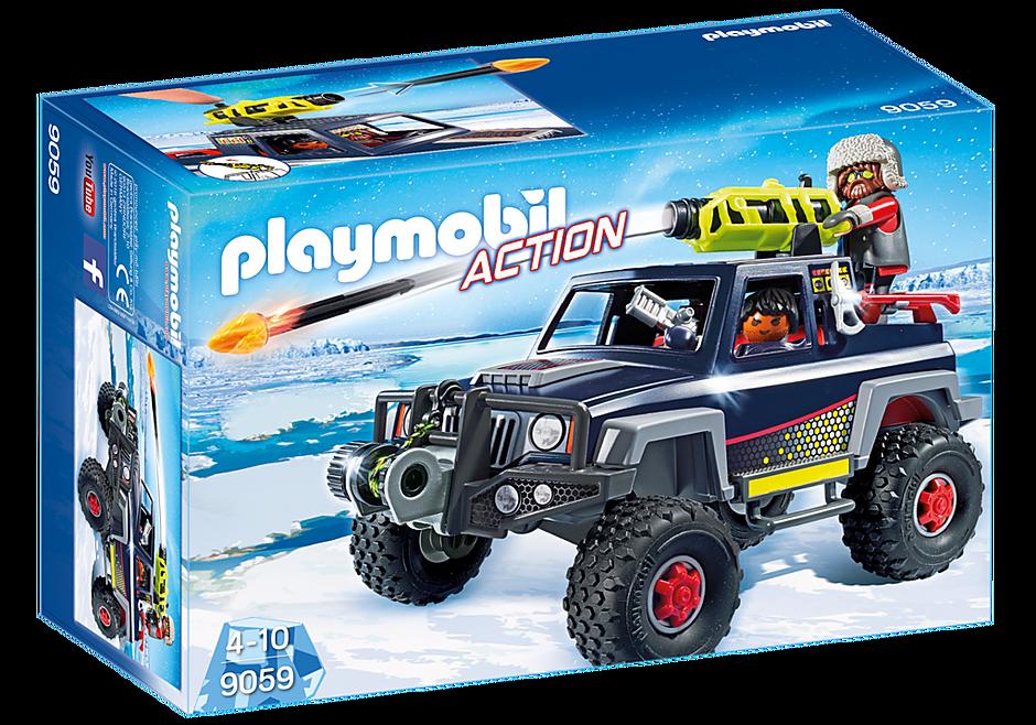 9059 Πειρατές του πάγου με όχημα 4Χ4 detail image 3