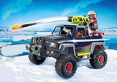 9059 Πειρατές του πάγου με όχημα 4Χ4