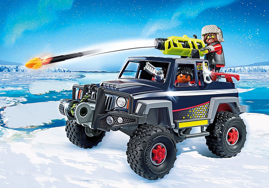9059 Ice Pirates with Snow Truck detail image 1