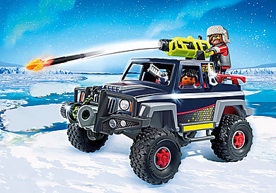 9059 Ice Pirates with Snow Truck