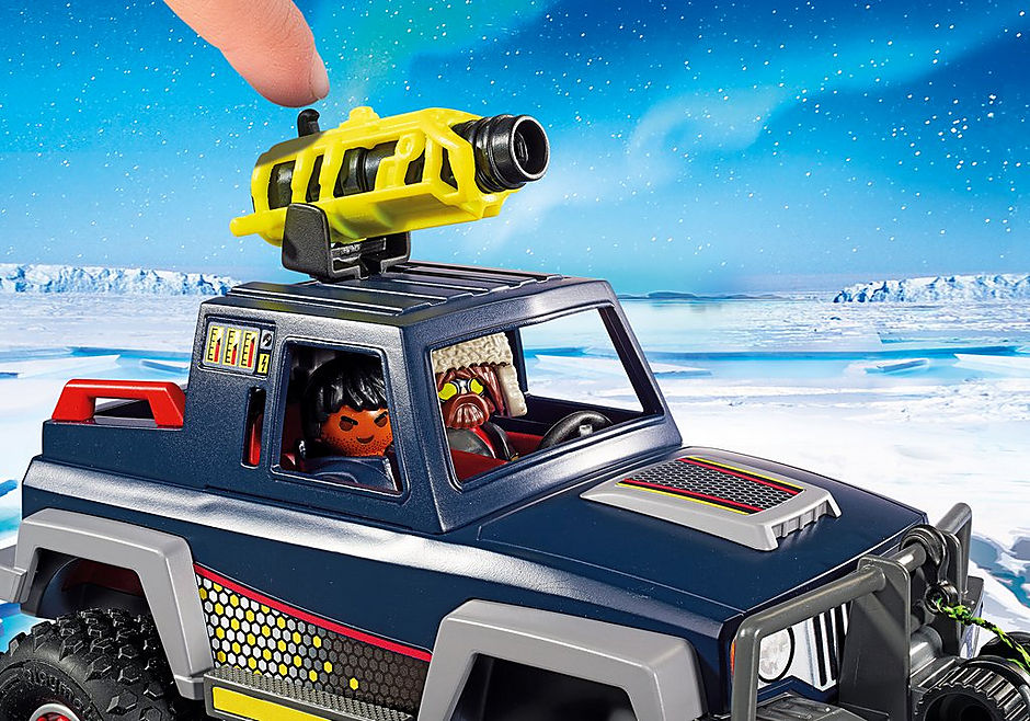 9059 Ice Pirates with Snow Truck detail image 5