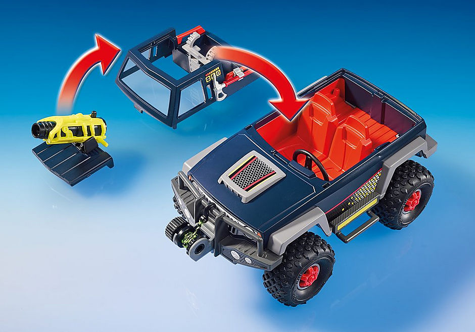 9059 Ice Pirates with Snow Truck detail image 6