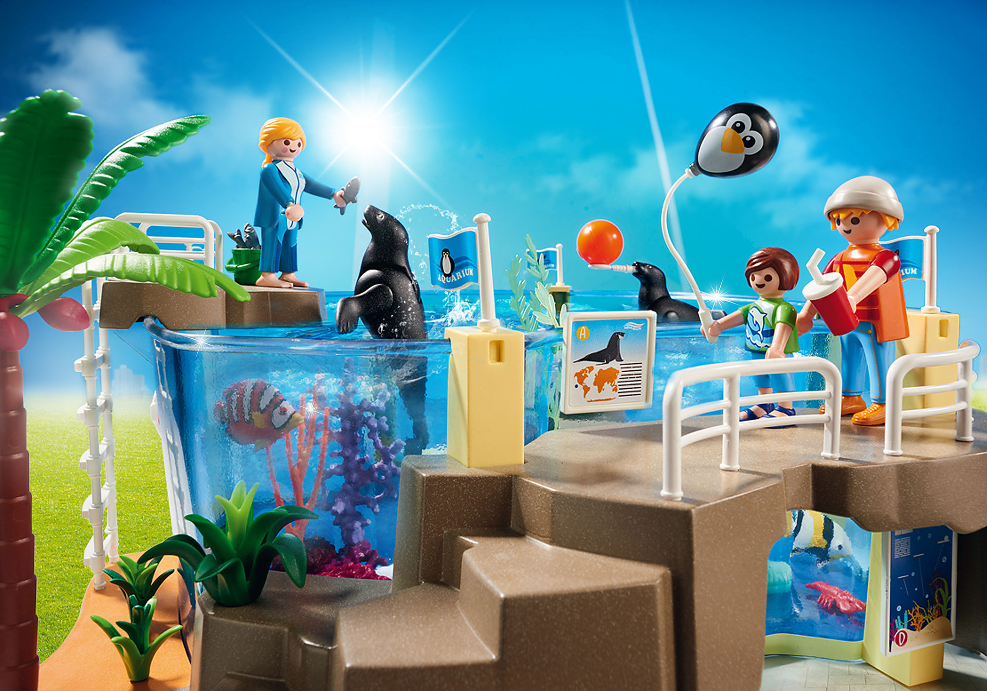http://media.playmobil.com/i/playmobil/9060_product_extra1/Μεγάλο Ενυδρείο
