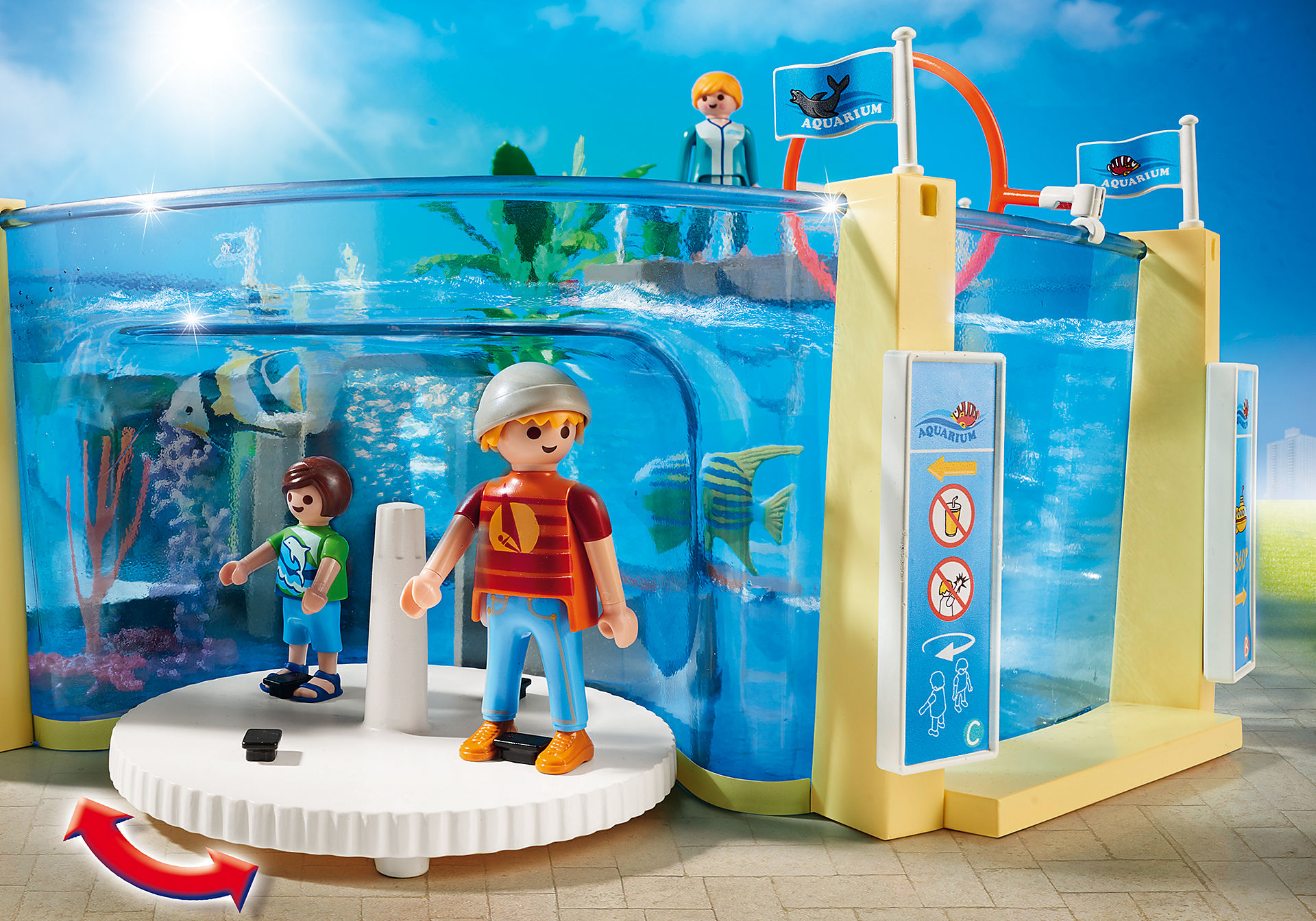 http://media.playmobil.com/i/playmobil/9060_product_extra4/Μεγάλο Ενυδρείο