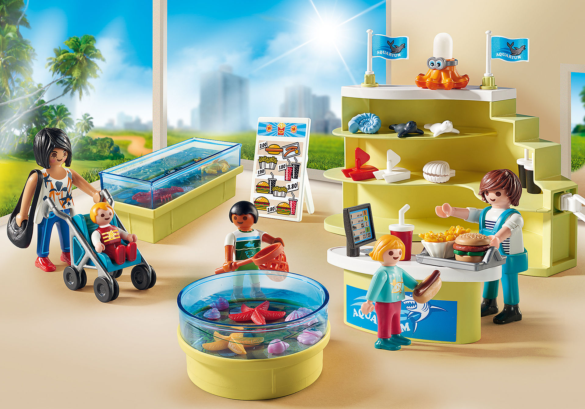 http://media.playmobil.com/i/playmobil/9061_product_detail/Κατάστημα Ενυδρείου