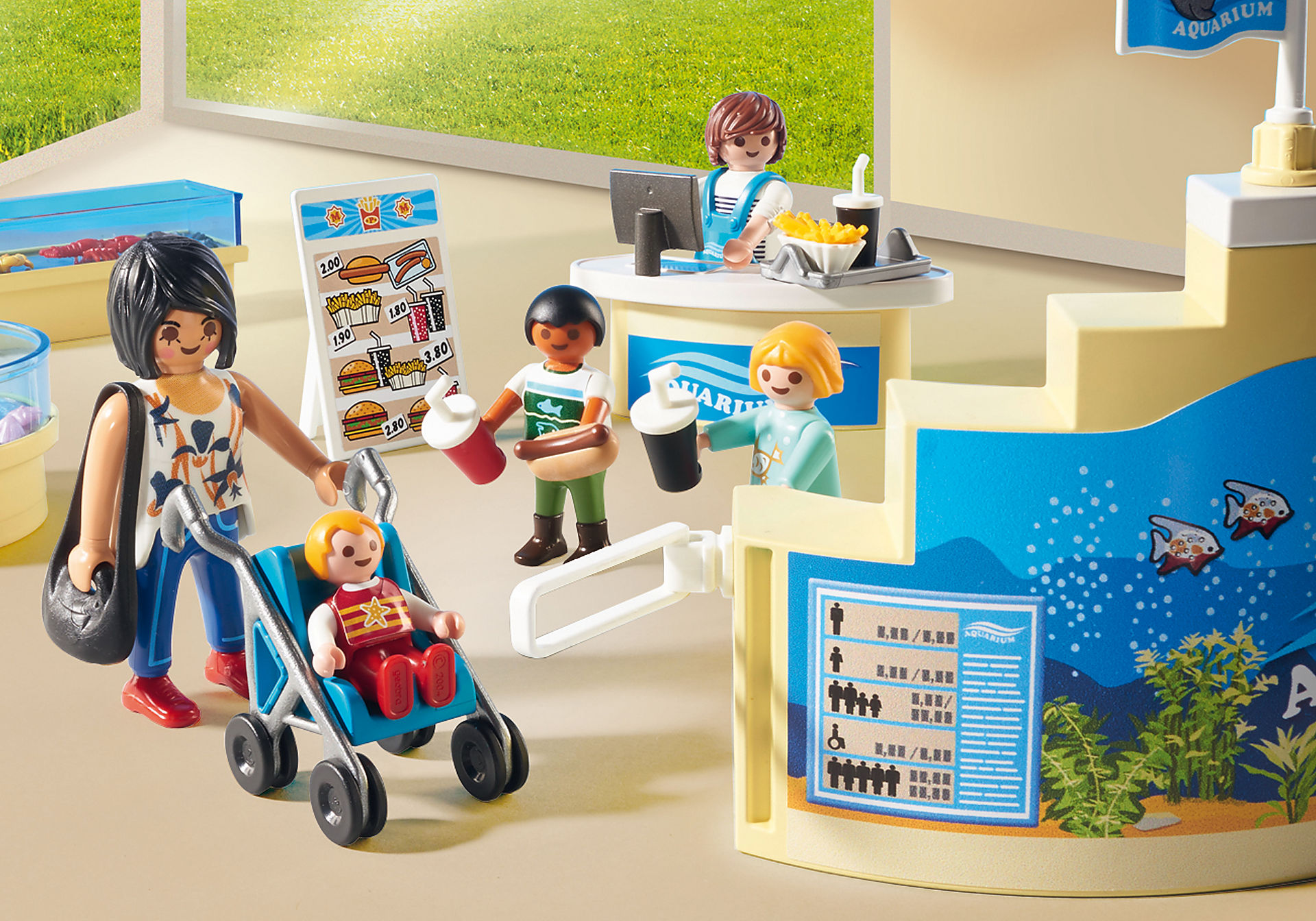 http://media.playmobil.com/i/playmobil/9061_product_extra1/Κατάστημα Ενυδρείου