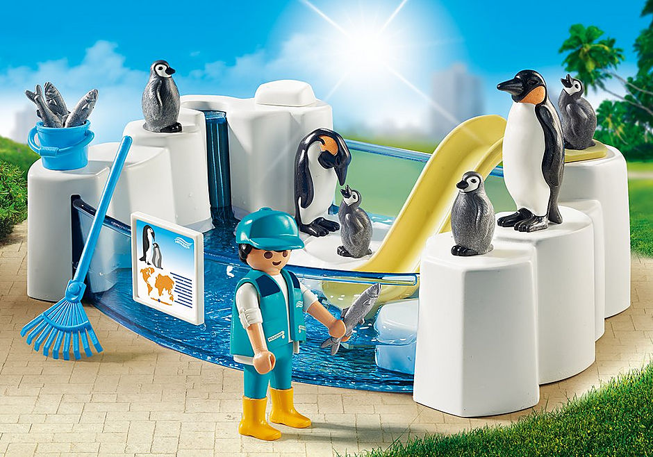 9062 Pinguinbecken detail image 1