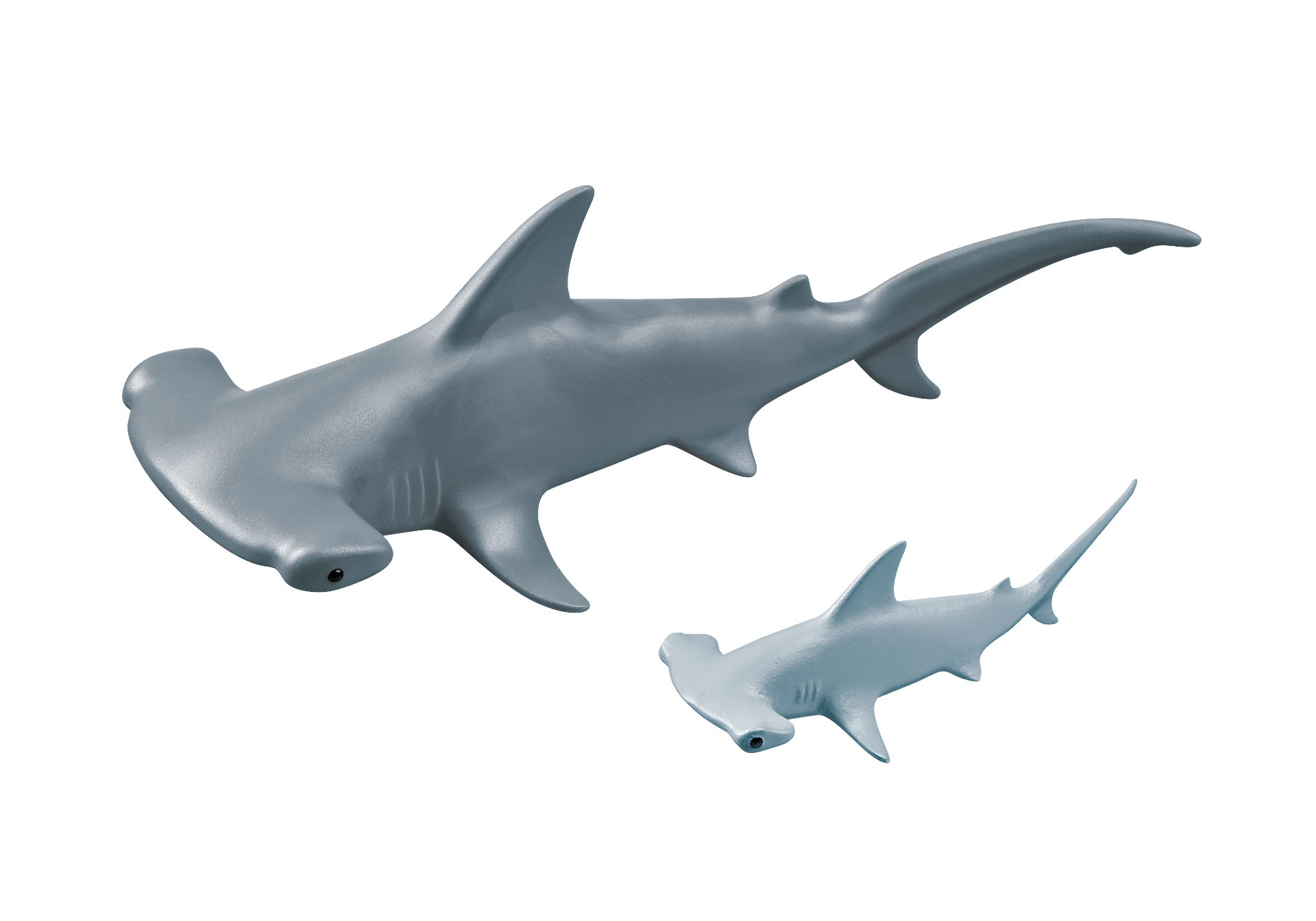 9065 Hammerhead Shark with Baby zoom image4