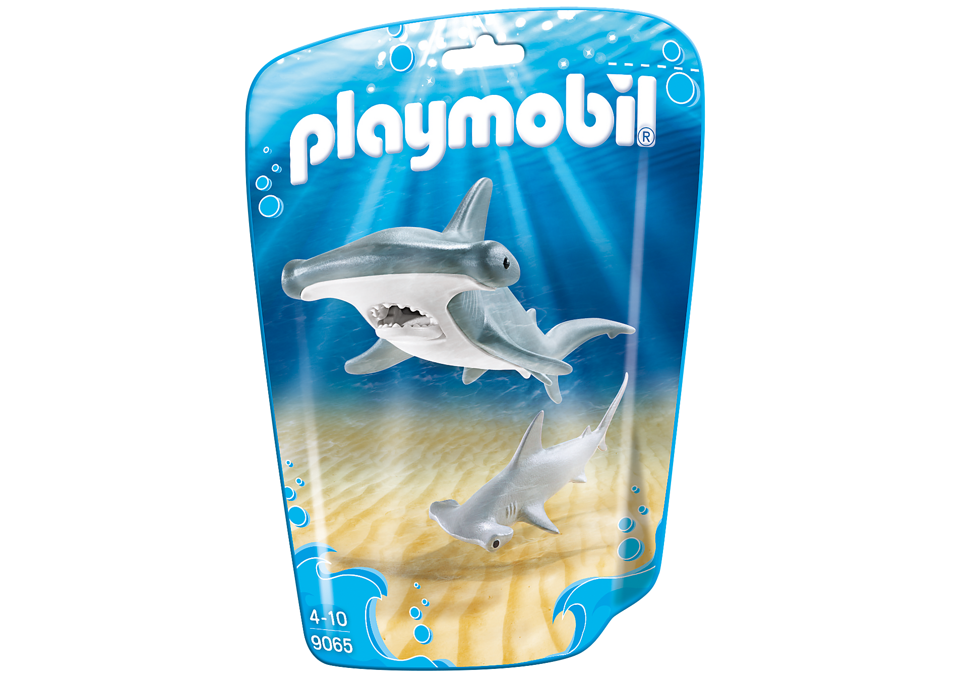 9065 Hammerhead Shark with Baby zoom image3