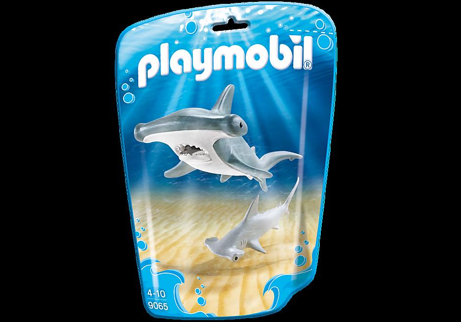 9065 Requin-marteau et son petit detail image 3