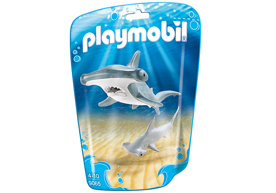 http://media.playmobil.com/i/playmobil/9065_product_box_front/Tiburón Martillo y Bebé