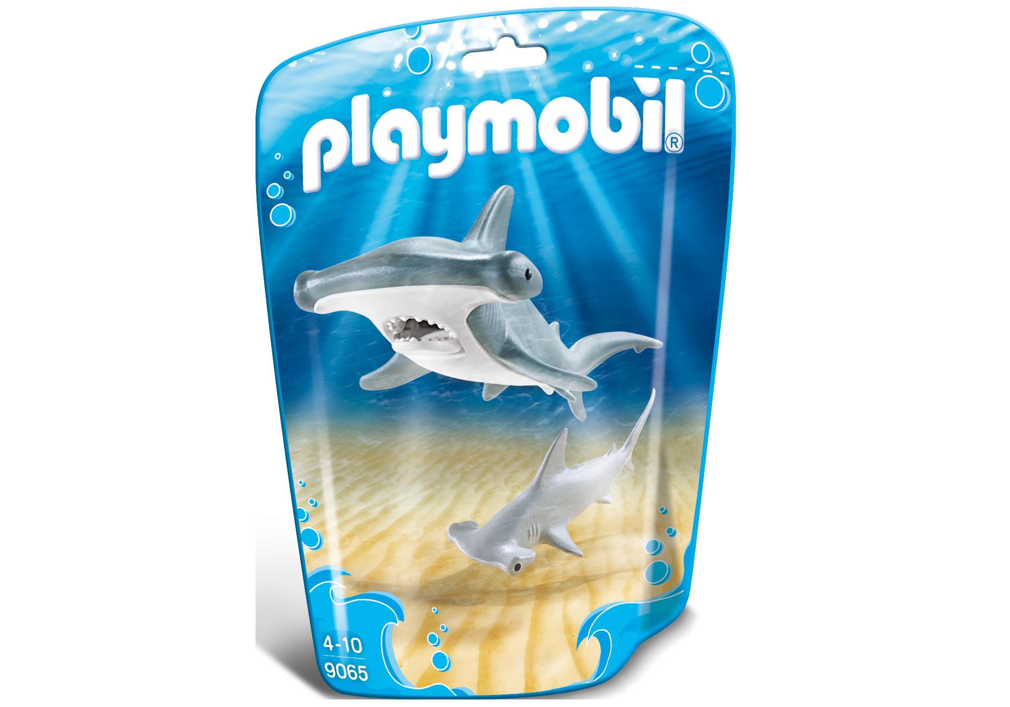 http://media.playmobil.com/i/playmobil/9065_product_box_front/Tubarão Martelo e Bebé