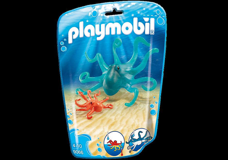9066 Blæksprutte med unge detail image 3