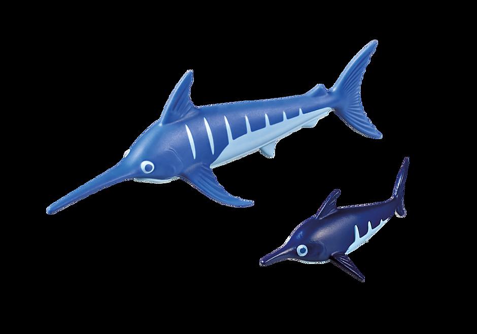 9068 Schwertfisch mit Baby detail image 4