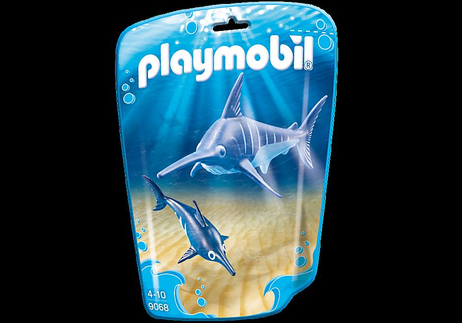http://media.playmobil.com/i/playmobil/9068_product_box_front/Swordfish with Baby