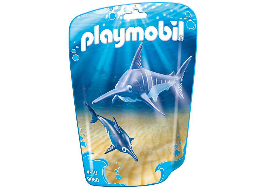 http://media.playmobil.com/i/playmobil/9068_product_box_front/Swordfish with Baby