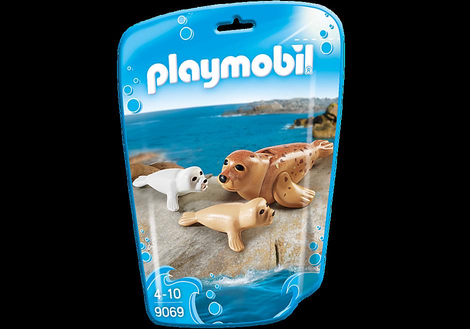 9069 Zeehond met pups detail image 3