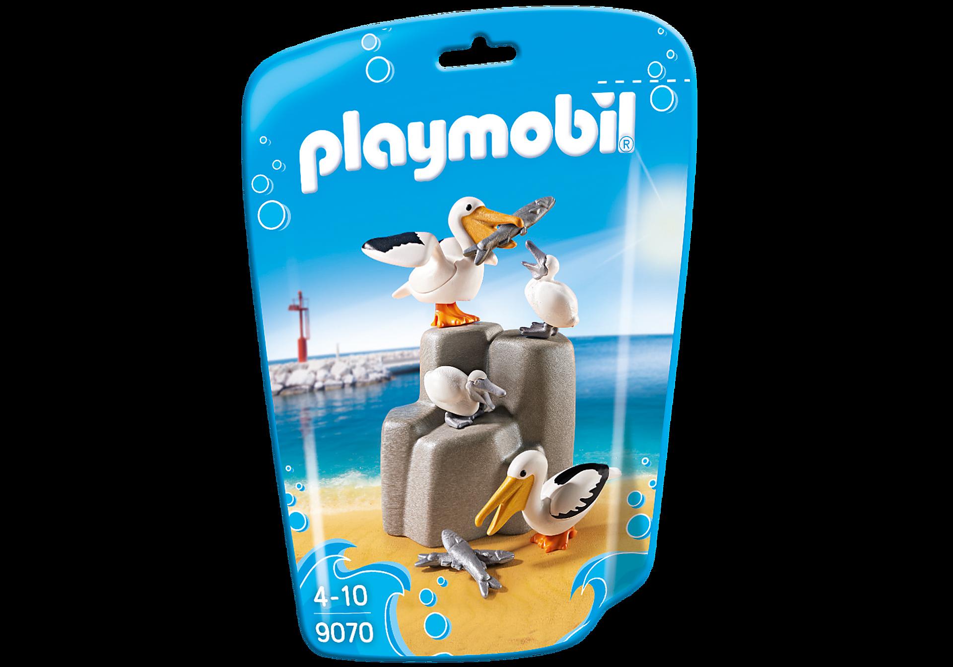 http://media.playmobil.com/i/playmobil/9070_product_box_front/Familia de Pelícanos