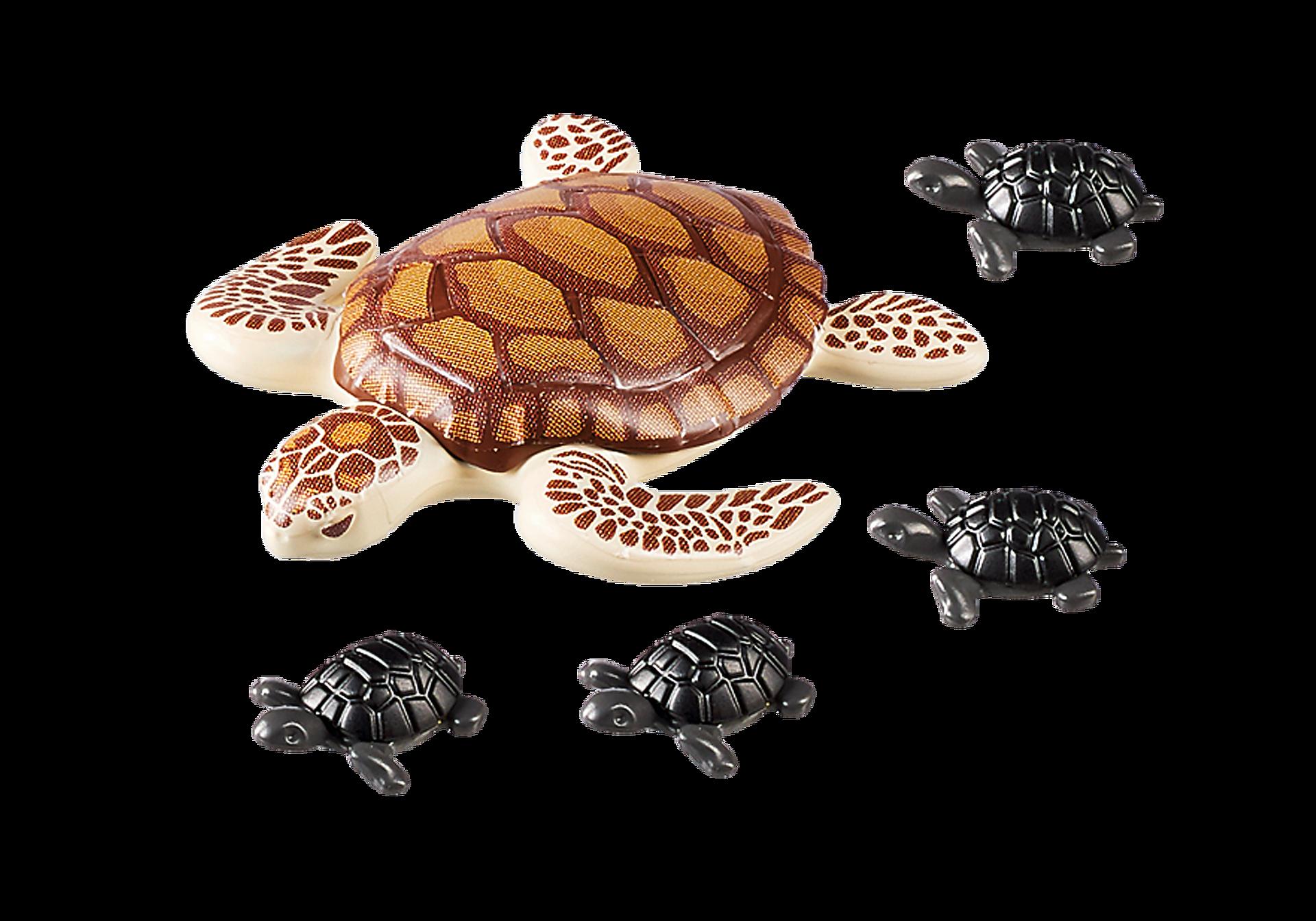 9071 Θαλάσσια χελώνα με χελωνάκια zoom image4