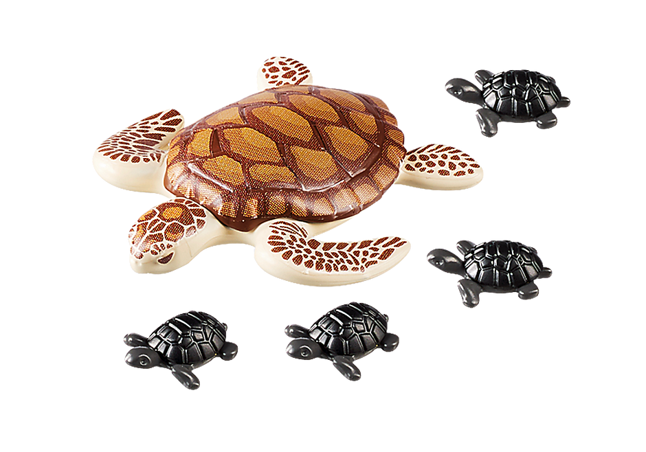 9071 Sea Turtle with Babies detail image 4