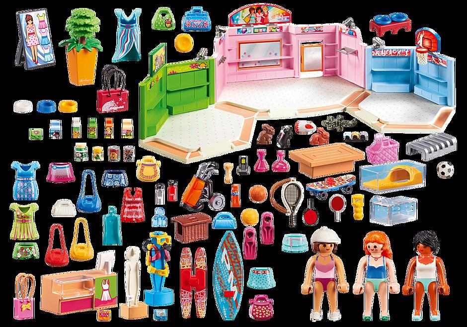 http://media.playmobil.com/i/playmobil/9078_product_box_back/Galeria Comercial com 3 lojas