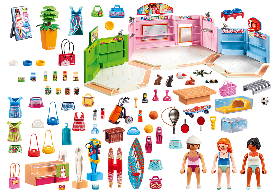 http://media.playmobil.com/i/playmobil/9078_product_box_back/Paseo Comercial con 3 tiendas