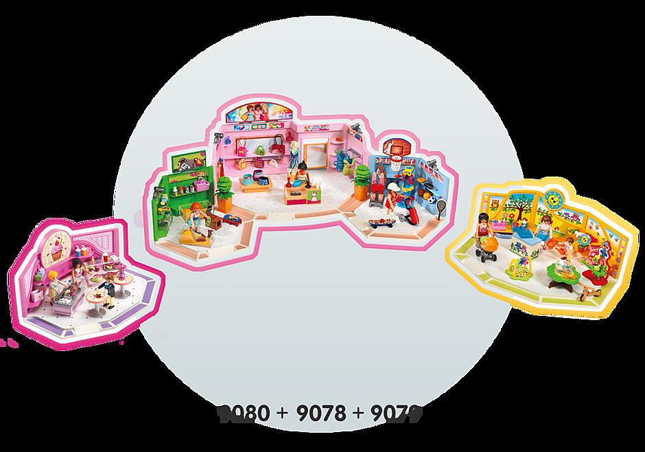 http://media.playmobil.com/i/playmobil/9078_product_extra5/Galeria Comercial com 3 lojas