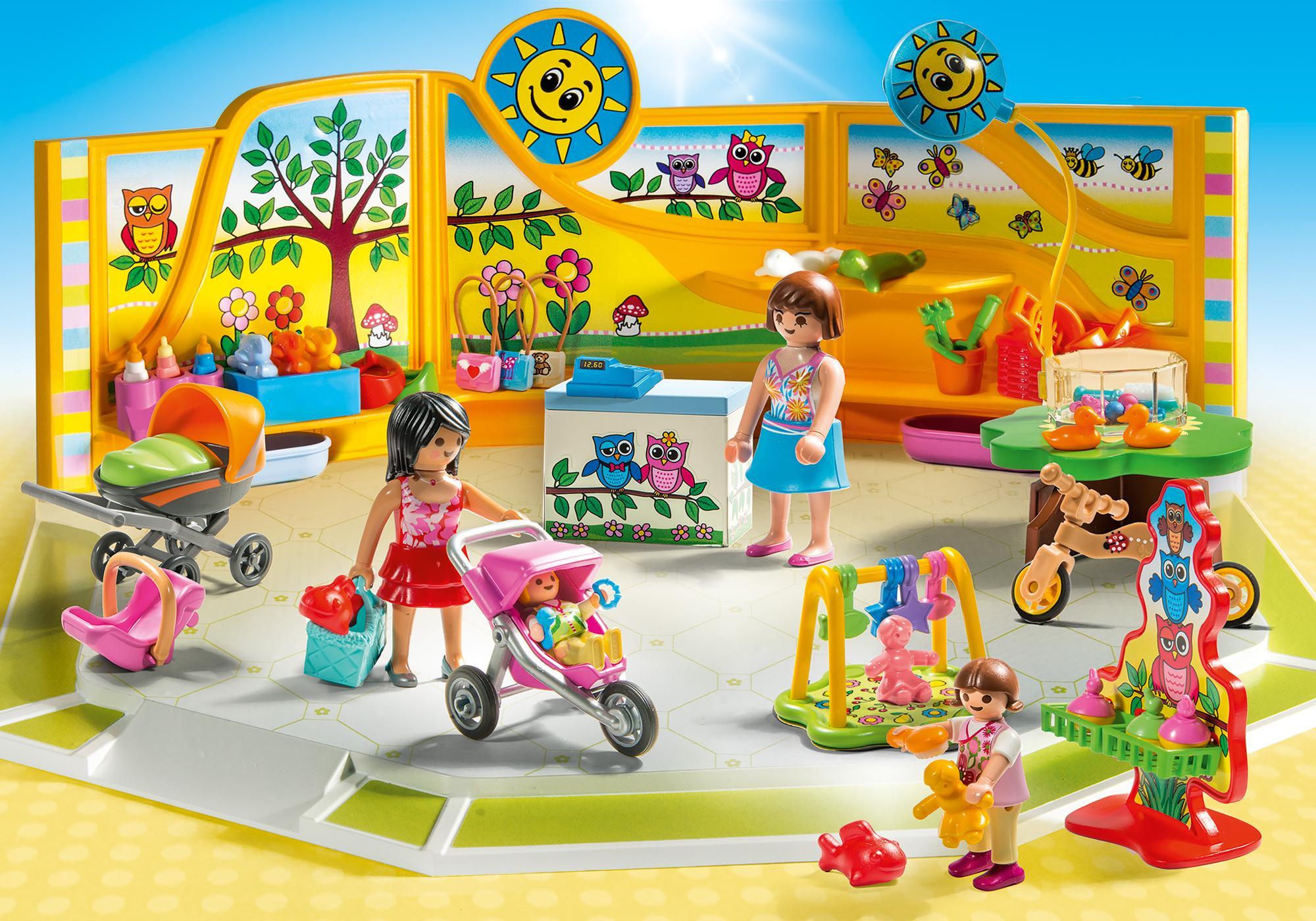 http://media.playmobil.com/i/playmobil/9079_product_detail/Sklep z artykułami niemowlęcymi