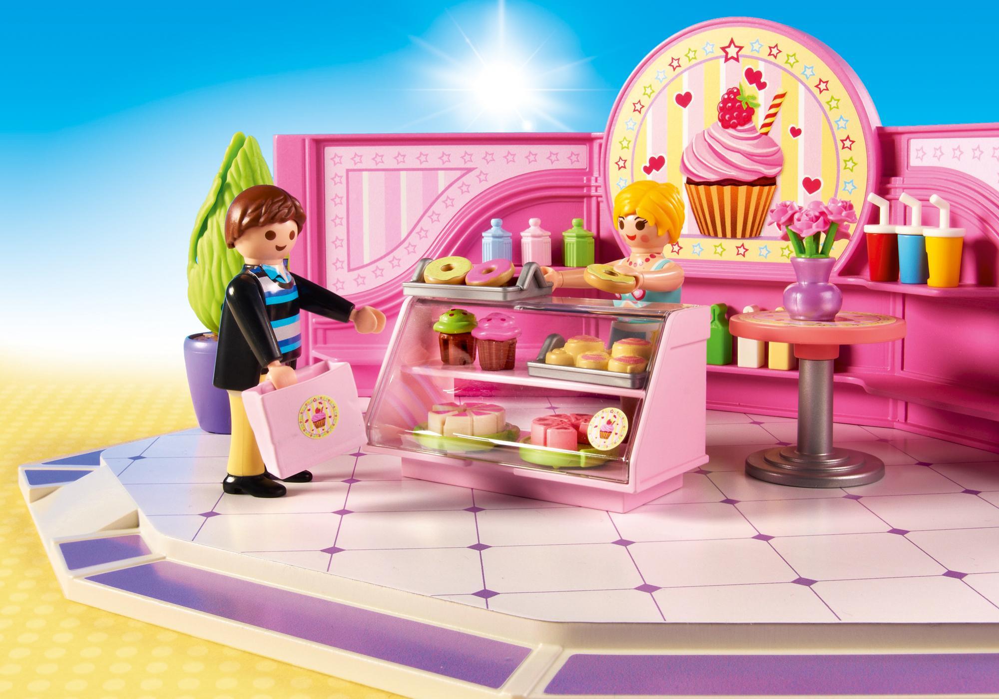 """http://media.playmobil.com/i/playmobil/9080_product_extra1/Café """"Cupcake"""""""