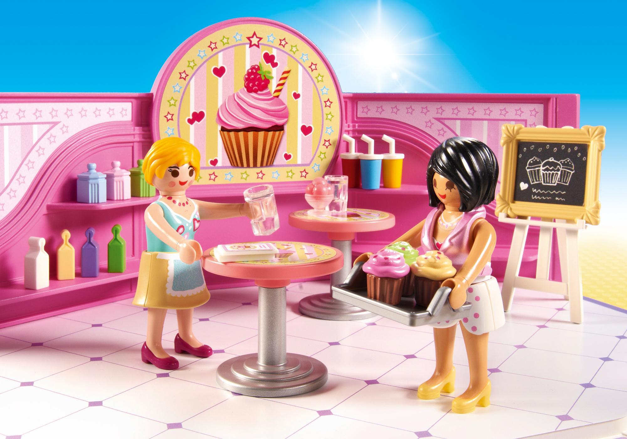 """http://media.playmobil.com/i/playmobil/9080_product_extra2/Café """"Cupcake"""""""