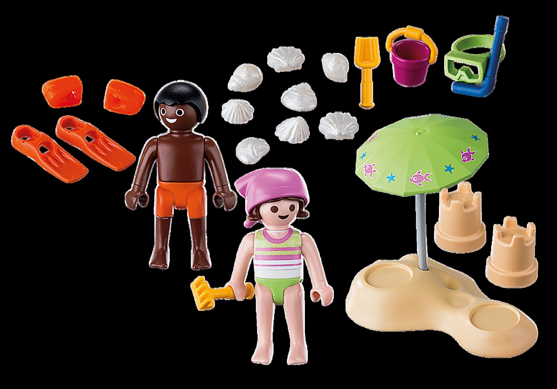 9085 Enfants et châteaux de sable  zoom image4