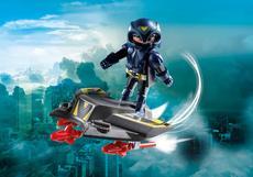 Playmobil Sky Knight With Jet 9086