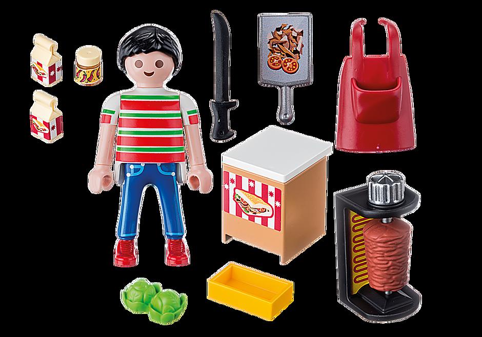 9088 Vendedor de Kebab detail image 4