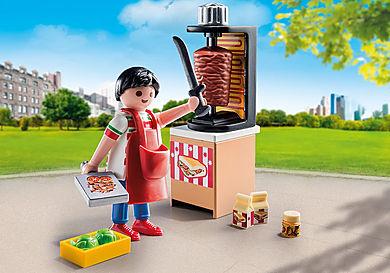 9088 Vendeur de kebab