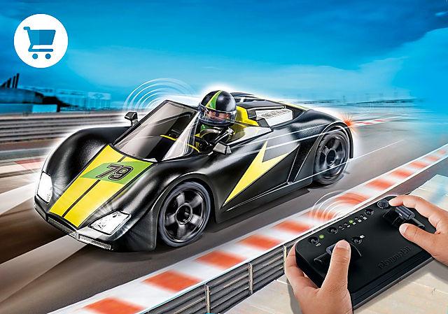 9089_product_detail/Voiture de course noire radiocommandée