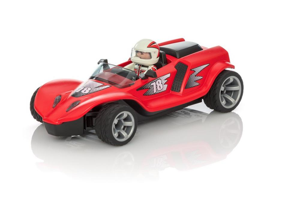 voiture de course rouge playmobil. Black Bedroom Furniture Sets. Home Design Ideas