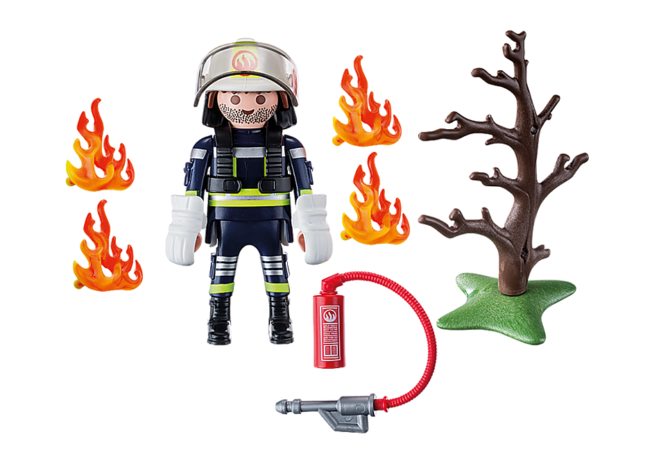 9093 Firefighter with Tree detail image 4