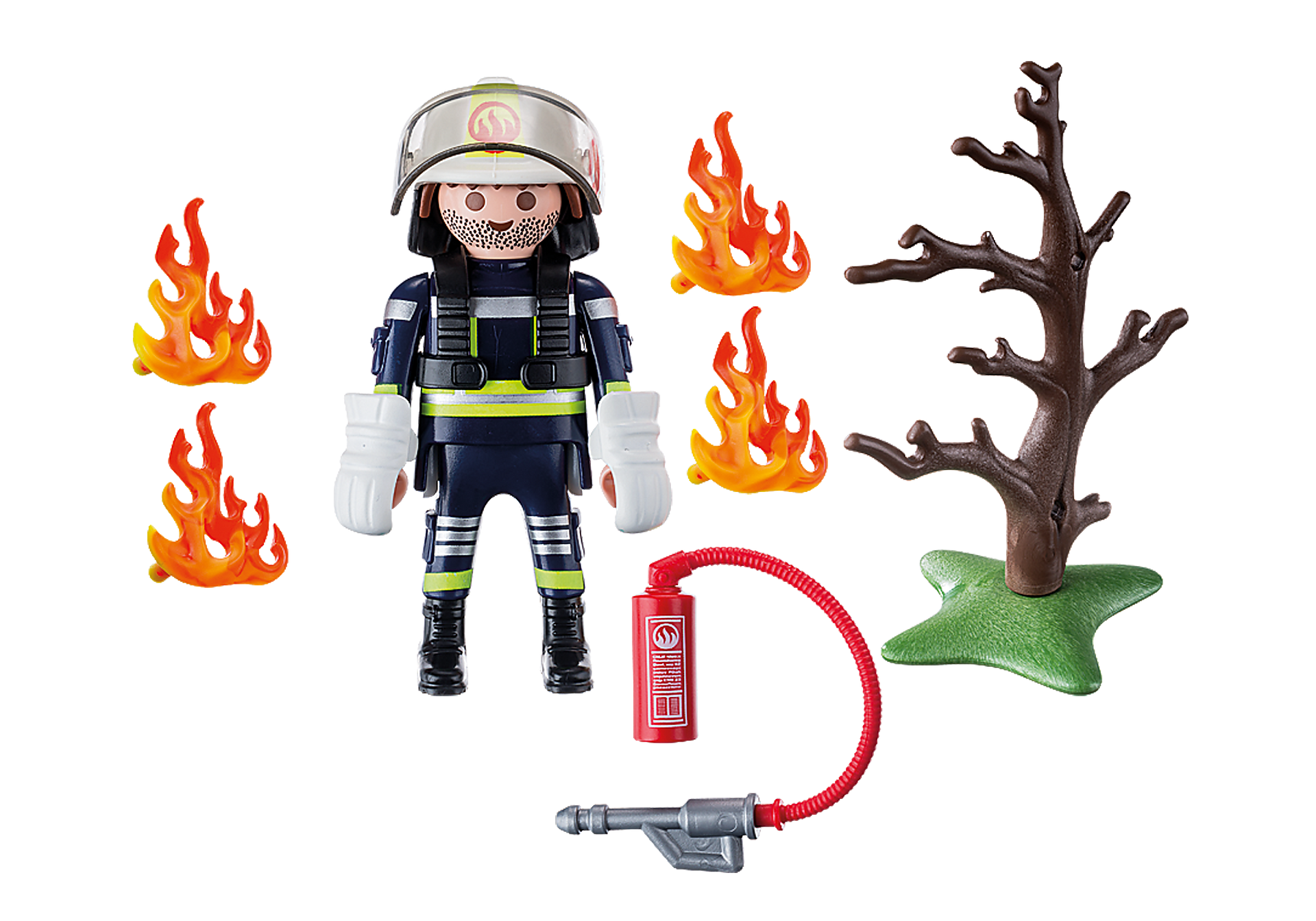 9093 Firefighter with Tree zoom image4