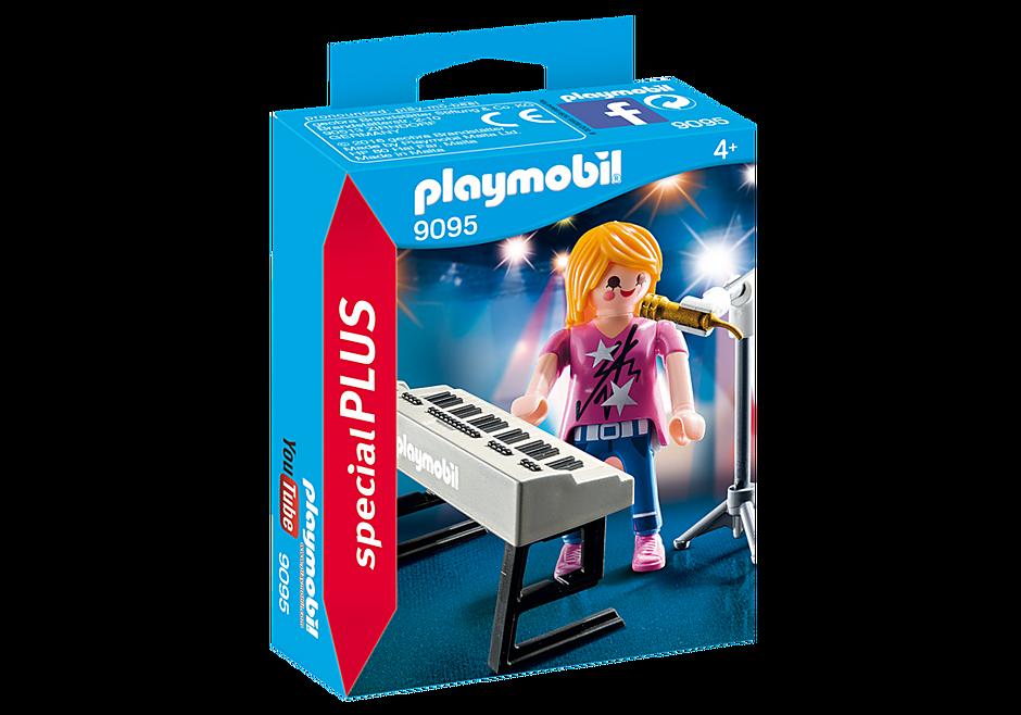 9095 Singer with Keyboard detail image 3