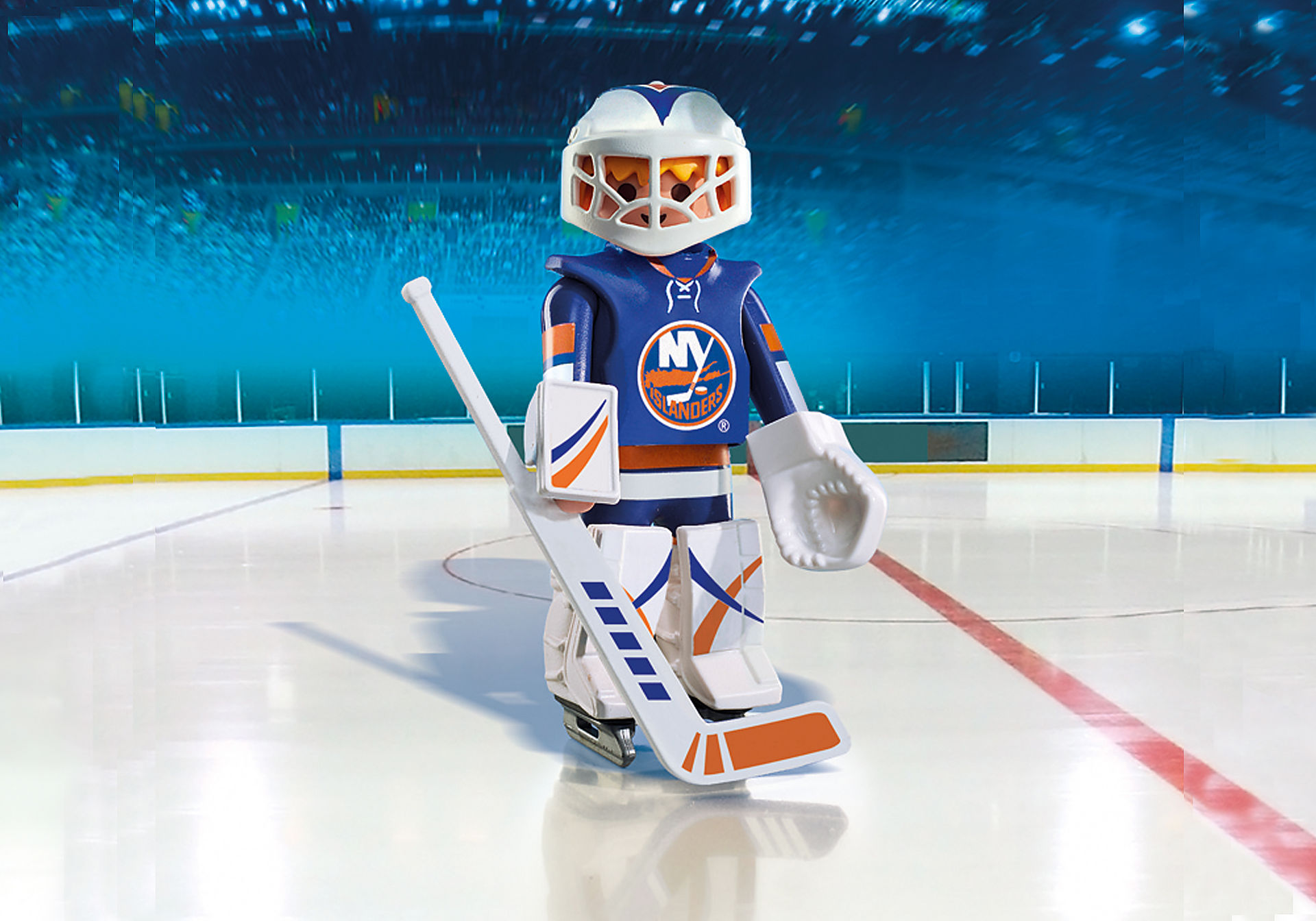 9098 NHL® New York Islanders® Goalie zoom image1