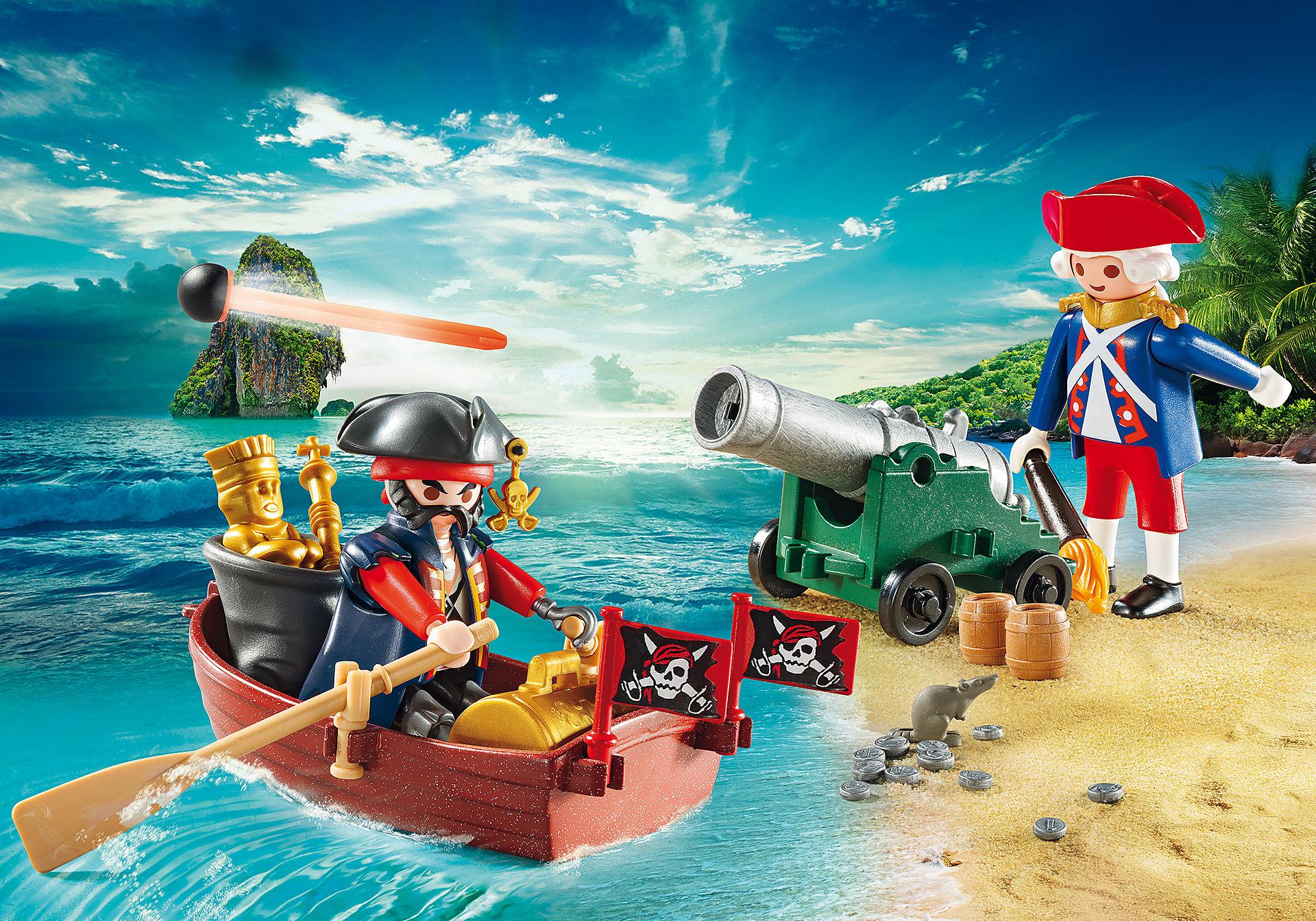 9102 Maletín grande Pirata y Soldado zoom image1
