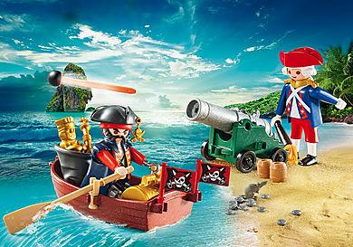 9102 Maleta grande Pirata e Soldado